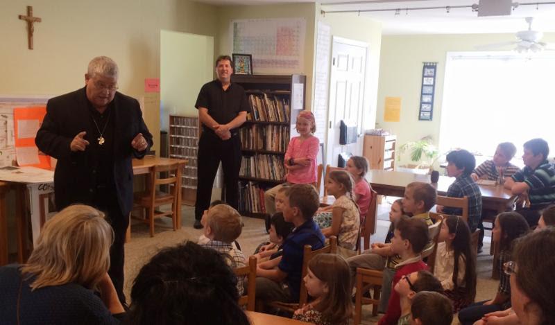 Spiritual Advisor Visits Students